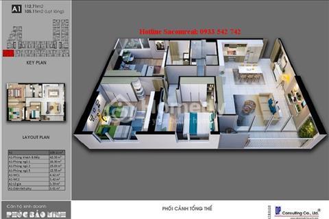 Căn hộ khu phức hợp duy nhất quận Tân Phú - Carillon 7, giá đợt 1 chỉ 24 triệu/m2 có VAT