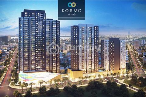 Bán căn hộ Kosmo Tây Hồ, 28,2 triệu/m2, chiết khấu đến 3%, lãi suất 0% (mua sành sống sang)
