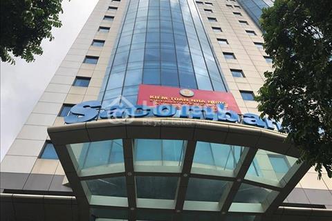 Cho thuê tòa nhà mặt phố Trần Thái Tông - Cầu Giấy 330m2 x 11 tầng mặt tiền 16m