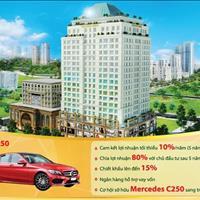 Cho thuê căn hộ văn phòng chính chủ 44m2, 46m2 tòa nhà Golden King quận 7 Phú Mỹ Hưng