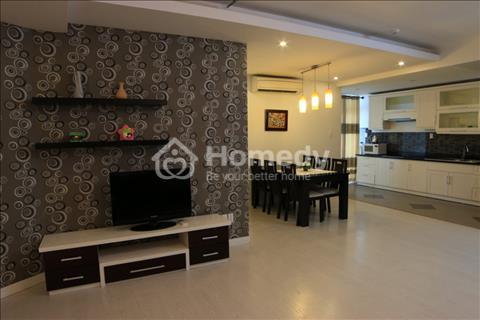 Cho thuê căn hộ chung cư cao cấp gần chợ Bến Thành Quận 1, diện tích 107m2, full nội thất