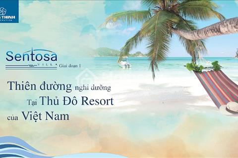 Đất nền Sentosa Villa tại thiên đường nghỉ dưỡng Phan Thiết
