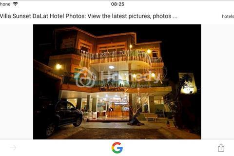 Cần bán gấp khách sạn Villa Sunset Đà Lạt, thành phố Đà Lạt