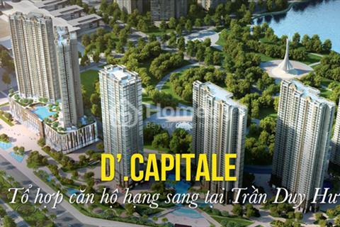 Tân Hoàng Minh mở bán trực tiếp sàn ki ốt thương mại tòa chung cư Vinhomes Trần Duy Hưng