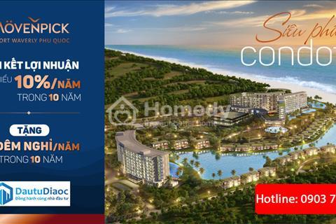 Mua Condotel Movenpick Phú Quốc hỗ trợ  vay với mức lãi suất 0% trong vòng 10 tháng