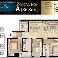 Cho thuê căn hộ 3 phòng ngủ The Flemington, đường Lê Đại Hành, quận 11, giá 19 triệu/tháng