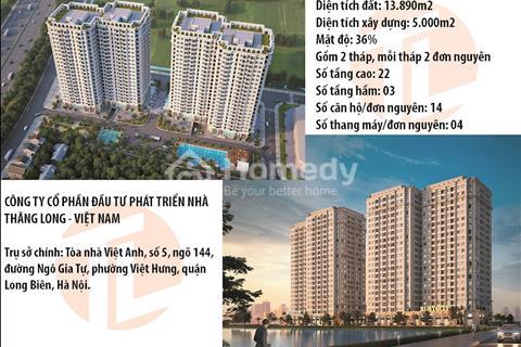 Chung cư Phúc Lợi, Long Biên, từ 800 triệu/căn đủ nội thất, kề Vinhome, khuôn viên đẹp siêu rộng