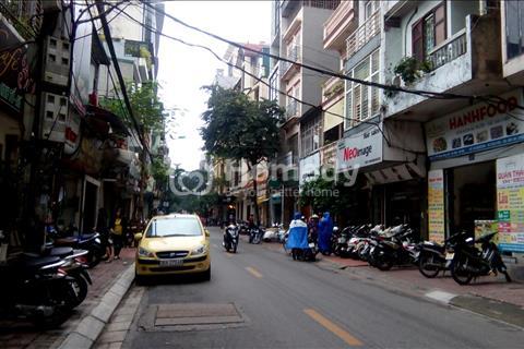 Bán nhà phố Huế, Hoàn Kiếm ô tô kinh doanh mặt tiền 5m x 5 tầng 13,7 tỷ