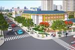 Phối cảnh khu vực trường học trong nội khu Golden City 3