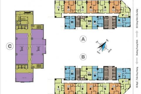 Bán gấp căn hộ 02 ngủ chung cư cao cấp Central Feild- 219 Trung Kính, nhận nhà ở ngay