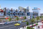 Phối cảnh trung tâm thương mại trong lòng dự án