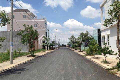 Đất thổ cư 5×20 giá 400triệu/ nền, ngay mặt tiền đường Nguyễn Văn Bứa, Hóc Môn, sổ hồng riêng