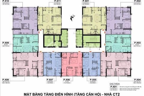Bán chung cư A10 Nam Trung Yên căn 04, 06, 08 giá 30,5 triệu/m2