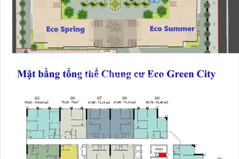 Chính chủ bán cắt lỗ căn hộ 2206 tòa CT2 dự án Eco Green City Nguyễn Xiển