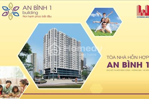 Bán ki ốt sàn thương mại chung cư An Bình I, khu đô thị Định Công