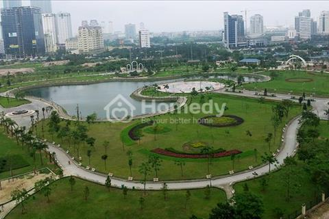 Cho thuê căn góc chung cư N07 Dịch Vọng view công viên, ban công Đông Nam