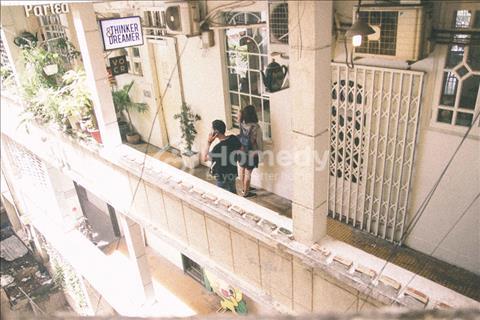Cho thuê căn hộ mặt tiền Nguyễn Trãi Quận 1, trung tâm, 50m2 giá tốt