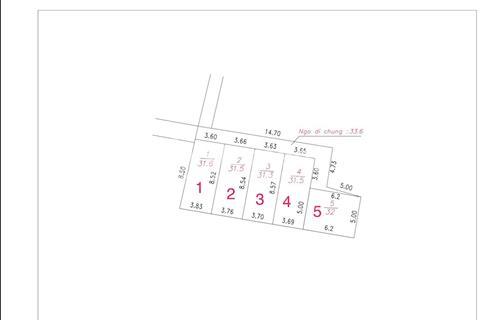 Bán đất Đại Mỗ, Hà Đông, 31.6m2, sổ đỏ chính chủ, 1,24 tỷ