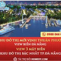 Hot!! Nhận đặt chỗ khu đô thị mới Thuận Phước - siêu dự án đất nền view 3 mặt biển