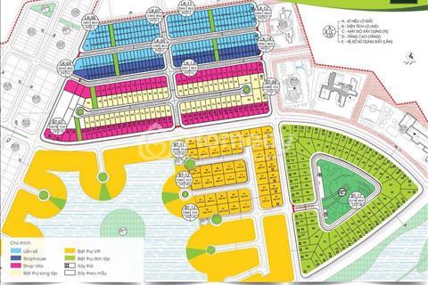 Bán các lô Shophouse LK4 & LK5 cuối cùng của dự án khu đô thị Phúc Ninh
