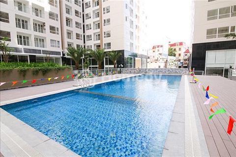 Cho thuê căn hộ Sky Center Shophouse DT 186m2 giá 70tr tiện làm văn phòng, cafe, siêu thị mini