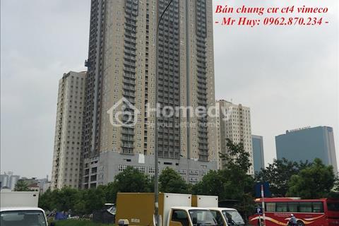 Cần tài chính bán căn hộ CH5A diện tích 123m2 chung cư CT4 Vimeco tầng sân vườn giá rẻ