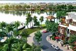 Phố thương mại Lộc Phát sở hữu những dãy nhà liền kề, những căn biệt thự song lập hiện đại hòa mình với màu xanh của cây cỏ, mây trời ngay bên hồ sinh thái An Tây Hồ rộng 15 ha.