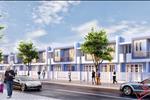 Phối cảnh khu nhà phố J1 của dự án