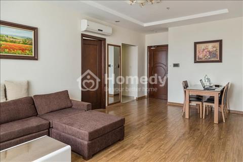 Cho thuê căn hộ cao cấp Times City T5, 2 phòng ngủ, 87m2, đầy đủ nội thất, 650$/tháng