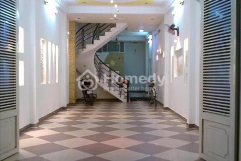 Cho thuê nhà Hoàng Quốc Việt 85m2/sàn, 7 tầng, mặt tiền 5m, giá 68 triệu/tháng