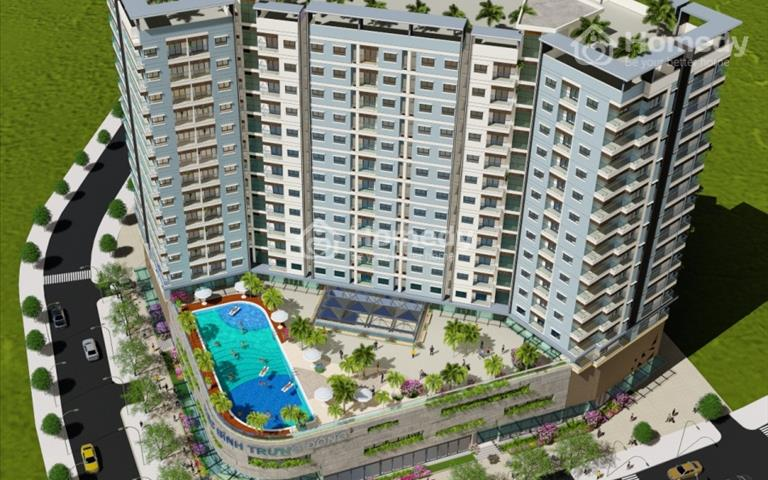 Bán căn hộ 62m2, 2 phòng ngủ, giá bán 1,3 tỷ HQC Bình Trưng Đông quận 2
