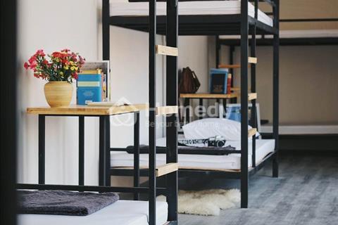 Cho thuê phòng ký túc xá giường tầng cao cấp đường D1, Bình Thạnh, full nội thất, có bảo vệ 24/24