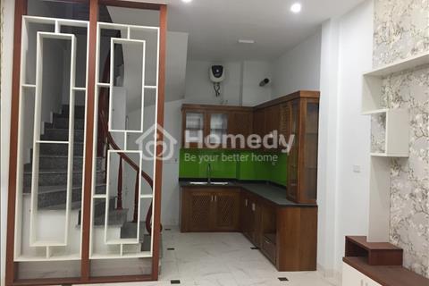 Bán nhà mới ngõ 143 Nguyễn Chính 34m2, 5 tầng nội thất cơ bản