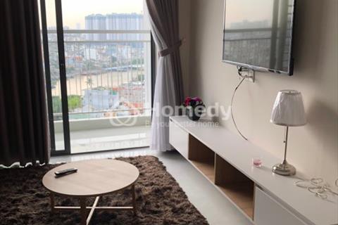 Cho thuê căn hộ Riva Park lầu cao, 3 phòng ngủ, full nội thất, giá $1250/tháng