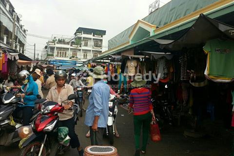 Thanh lý 2 shop góc 2 mặt tiền chợ Bình Chánh, hỗ trợ góp 0%