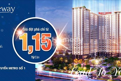 Chuyển nhượng căn đầu hồi Sài Gòn Gateway, cam kết giá tốt hơn chủ đầu tư, thủ tục nhanh chóng