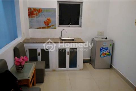 Cho thuê căn hộ 1 phòng ngủ 1 phòng bếp và 1 wc tại trung tâm quận 3