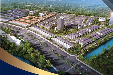 Nhà 3 tầng mặt view hồ, đường 35m, phố thương mại Shophouse, Mê Linh, Liên Chiểu, Đà Nẵng trả 30%