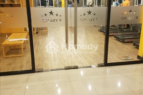 Cho thuê căn hộ Galaxy 9, quận 4, diện tích 50m2, 1 phòng ngủ, nhà đẹp