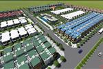 Dự án Khu đô thị The Gold City tọa lạc mặt tiền giáp đường Hải Thượng Lãng Ông, tại Ấp 02, Tiến Thành, Xã Đồng Xoài, Thành phố Bình Phước.