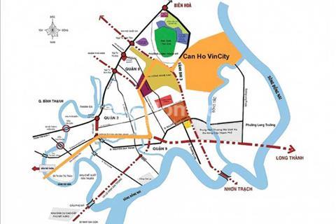 Chỉ cần 500 triệu sở hữu ngay căn hộ Vincity, quận 9, giá gốc chủ đầu tư