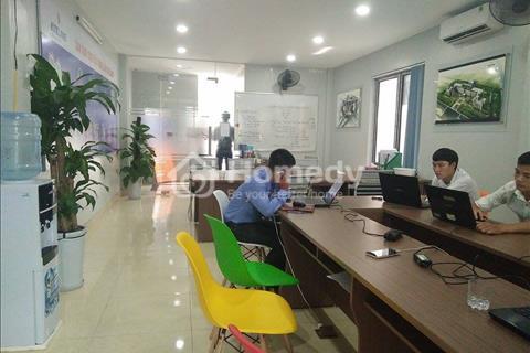 Cho thuê văn phòng đường Vũ Phạm Hàm, Cầu Giấy, Hà Nội, diện tích 80m2, mặt tiền 5m