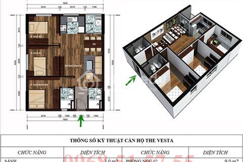 Bán căn hộ giá rẻ The Vesta chỉ với giá 700 triệu, nhận nhà ở ngay