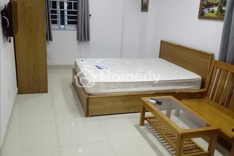 Căn hộ cho thuê full nội thất bảo vệ 24/24 không gian sạch sẽ thoáng mát tại Cách Mạng Tháng Tám