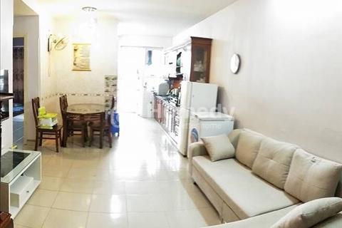 Cho thuê căn hộ chung cư đủ nội thất điều hòa, nóng lạnh, bếp, bình gas, bàn, tủ, giường