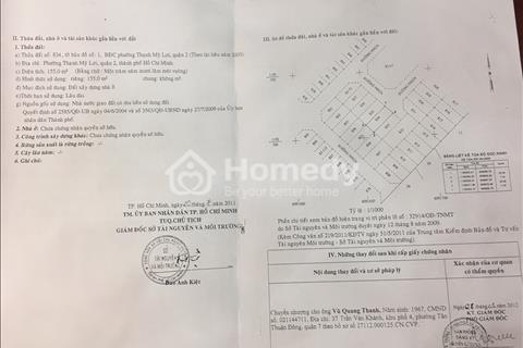 Mở bán đất A834 dự án Huy Hoàng, đất khu đô thị phường Thạch Mỹ Lợi, quận 2