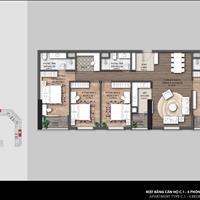 Bán căn hộ 4 ngủ đẹp nhất tại dự án The Emerald nội khu The Manor ban công hướng Đông Nam