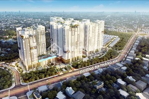 Bán căn hộ Hà Đô 2 phòng ngủ (1 đa năng), giá 4,4 tỷ, view quận 1, hoàn thiện cơ bản