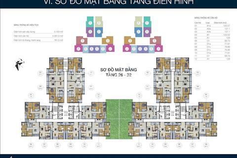 Bán gấp căn 128m2 tòa J, suất ngoại giao, giá chỉ 16,5 triệu/m2, 4 phòng ngủ, nhận nhà ở luôn