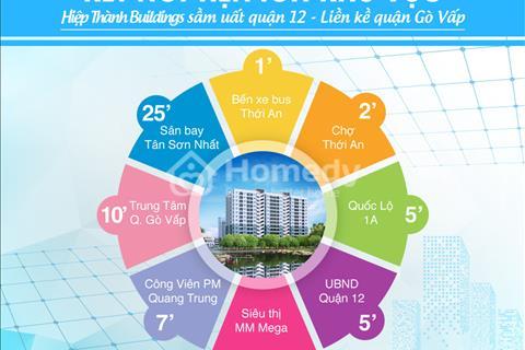 Căn hộ trả góp giá tốt nhất quận 12 - Hiệp Thành Buildings